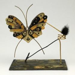 Art Deco Butterfly Psyche