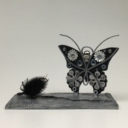 Art Deco Butterfly Belisama