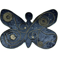 Butterfly Zipper Decor