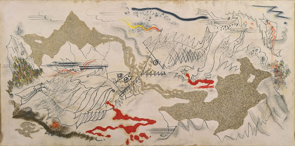 André Masson - Battle of Fishes (1926)