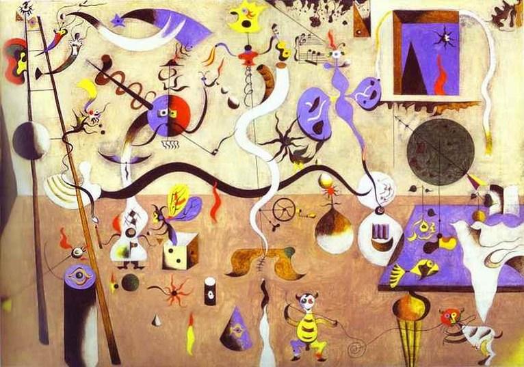 Joan Miro - Harlequin's-Carnival (1924)