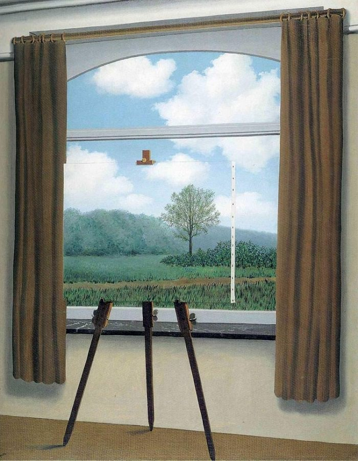 Rene Magritte The Human Condition (1933)