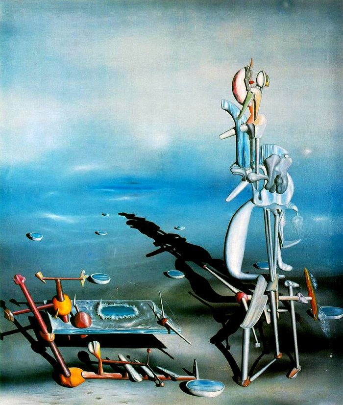 Yves Tanguy Indefinite Divisibility (1942)