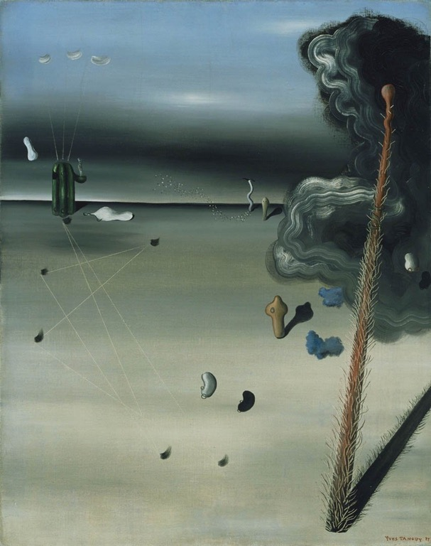 Yves Tanguy-Mama, Papa is Wounded! (1927)