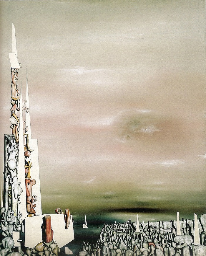 Yves Tanguy Rose of the Four Winds (1950)