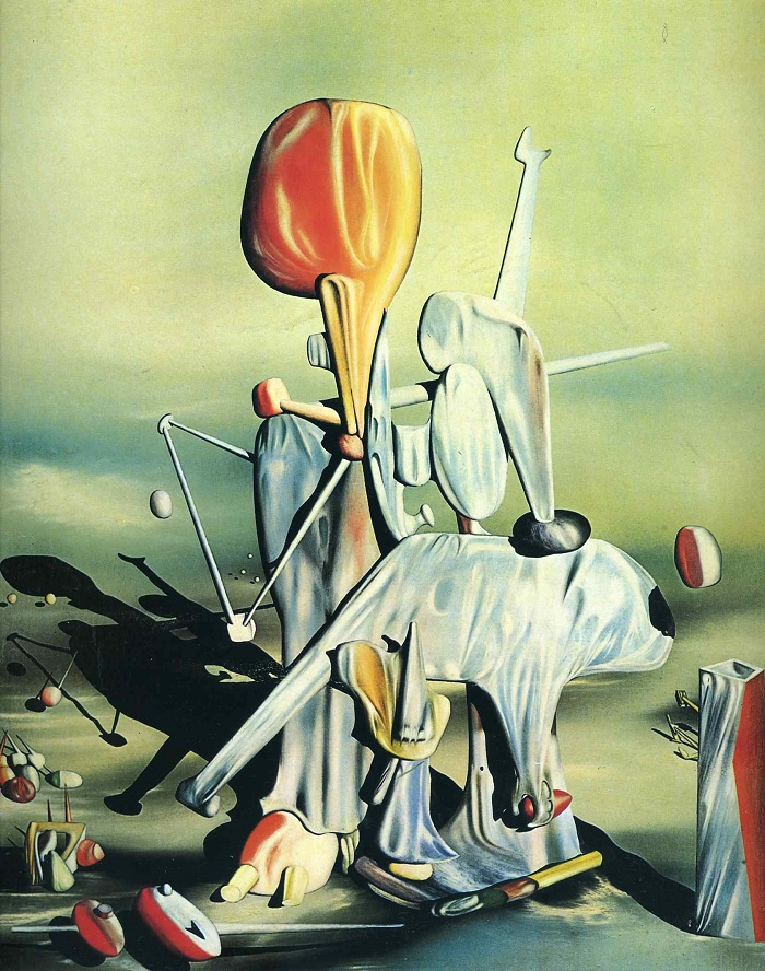Yves Tanguy Through Birds, Through Fire, But Not Through Glass (1943)