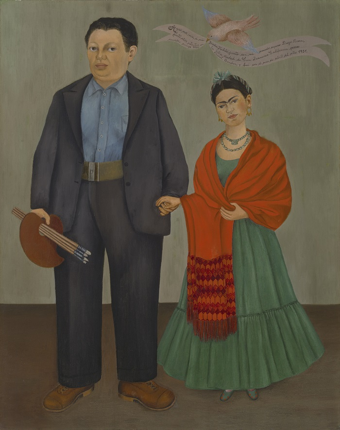 Frida Kahlo Frieda and Diego Rivera (1931)