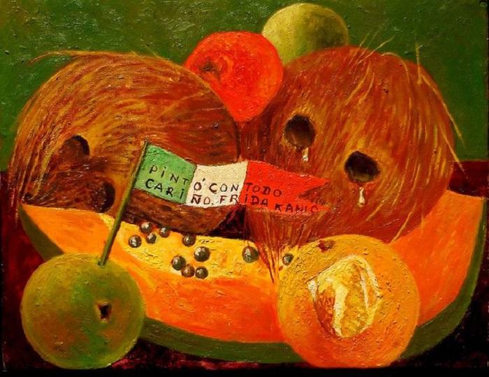 Frida Kahlo Weeping Coconuts (Cocos gimientes) (1951)