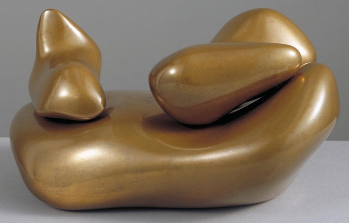 Sculpture to be Lost in the Forest 1932, cast c.1953-8 by Jean Arp (Hans Arp) 1886-1966