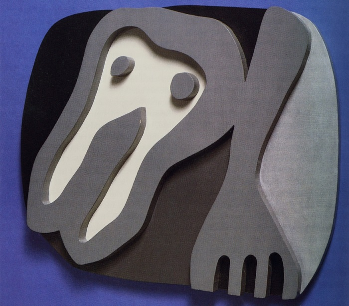 Hans Arp Shirt Front and Fork (1922)