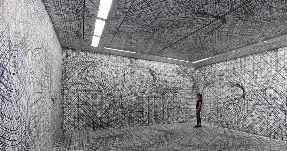 Peter Kogler - Galerie im Taxispalais, Innsbruck, 2014