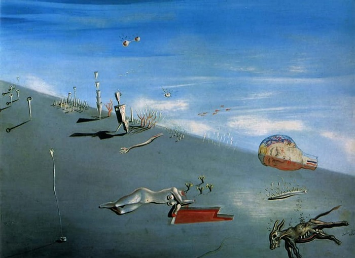 Salvador Dali Honey is Sweeter than Blood (1927)