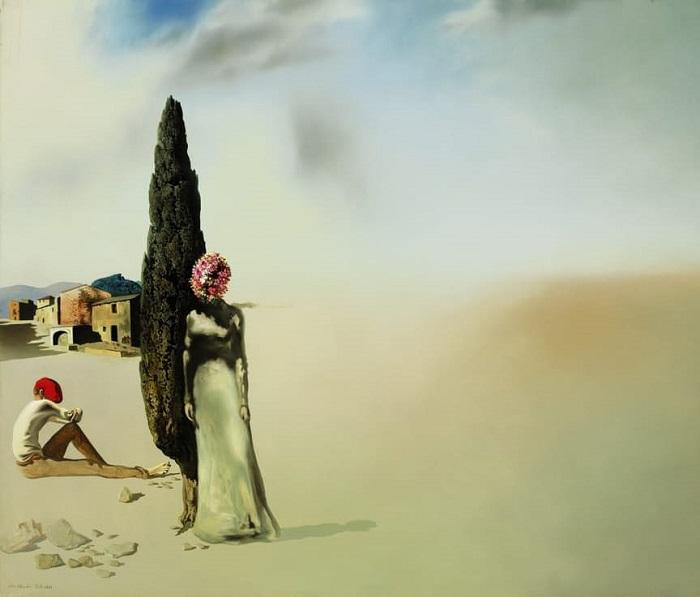 Salvador Dali Printemps necrophilique (1936)