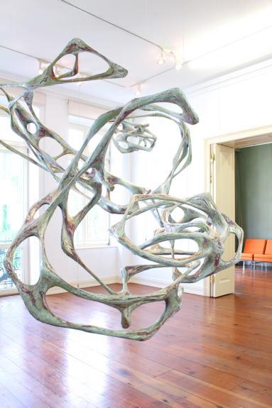 Wolfgang Flad Van der Grinten Galerie 2016