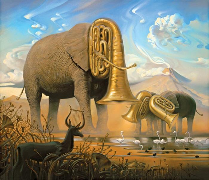 African Sonata Vladimir Kush