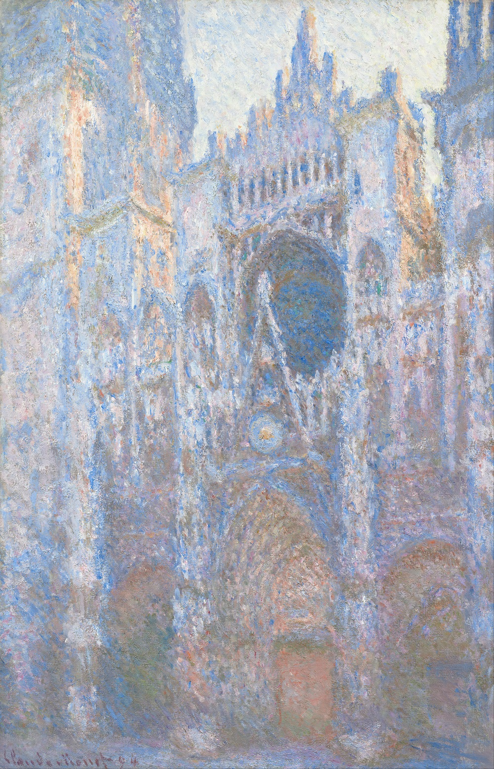 Claude Monet Rouen Cathedral, West Façade, 1894 National Gallery of Art, Washington D.C.