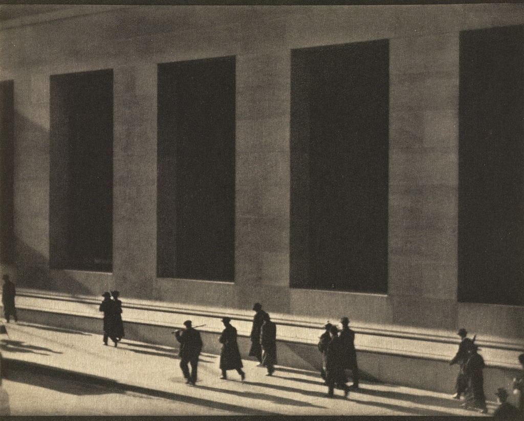 Paul Strand New York, Negative 1915; print 1916 J. Paul Getty Museum