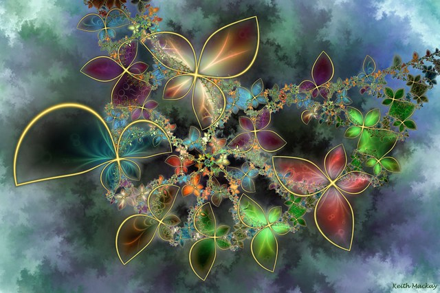 Keith Mackay-Fractal - Butterfly